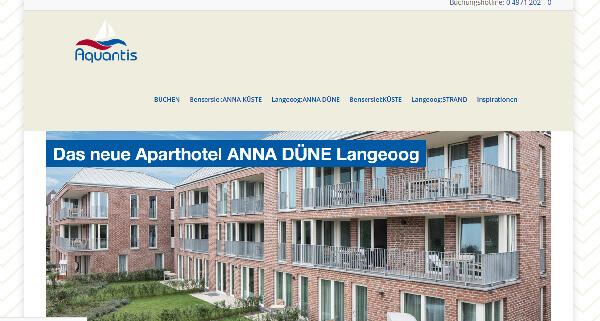 Rollstuhl aparthotel anna d ne bensersiel barrierefrei for Appart hotel karlsruhe