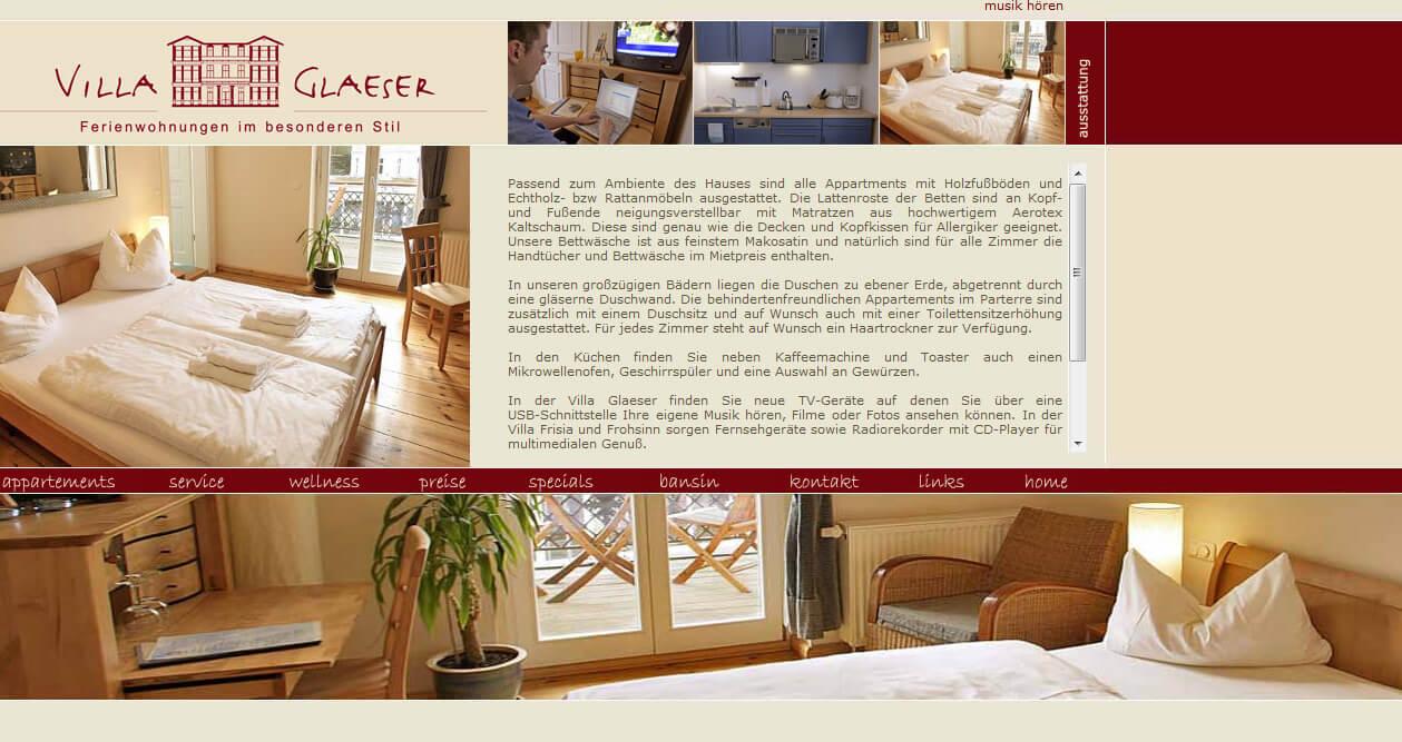 villa glaeser ferienwohnungen heringsdorf barrierefrei behindert barrierefrei e v. Black Bedroom Furniture Sets. Home Design Ideas