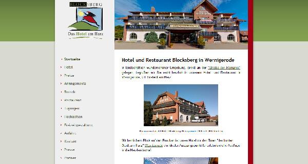 Hotel Und Restaurant Blocksberg Wernigerode