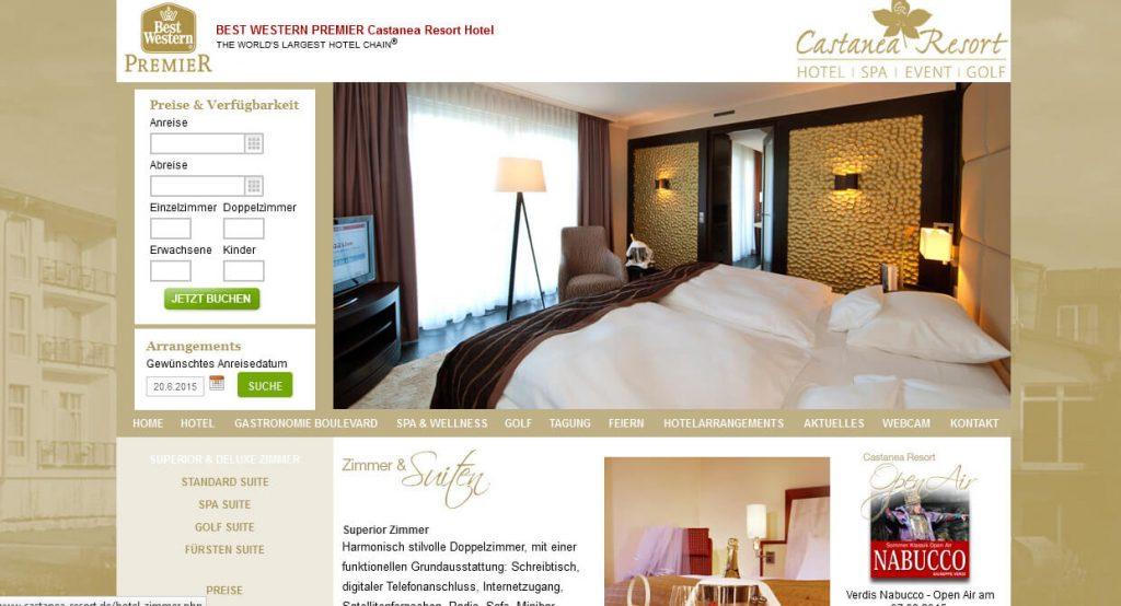 Rollstuhl Castanea Resort Hotel Adendorf barrierefrei ...