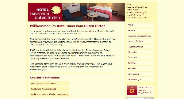 Rollstuhl Haus vom Guten Hirten Münster barrierefrei