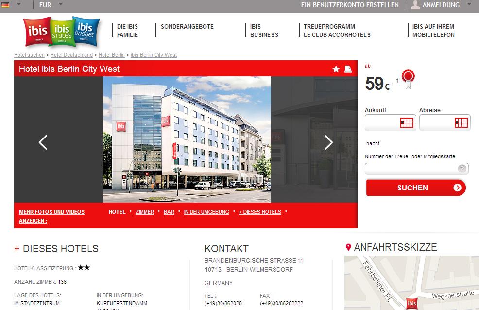 hotel ibis berlin city west barrierefrei behindert. Black Bedroom Furniture Sets. Home Design Ideas