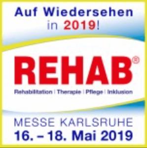 Termin Rehab Messe Karlsruhe 2019 @ REHAB Messe Karlsruhe 2019 | Rheinstetten | Baden-Württemberg | Deutschland