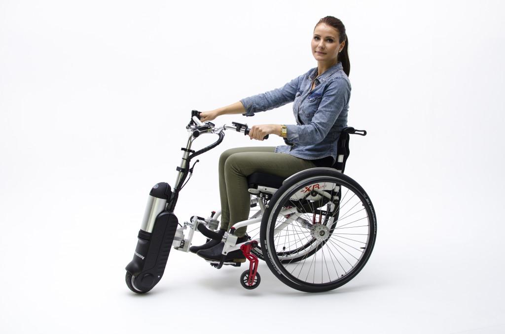 MySLAVE Zuggerät Rollstuhl myfrankie
