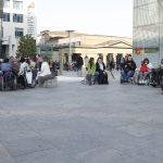 KostenlosesRollstuhltraining Kleiner SchlossplatzApril 2015 05