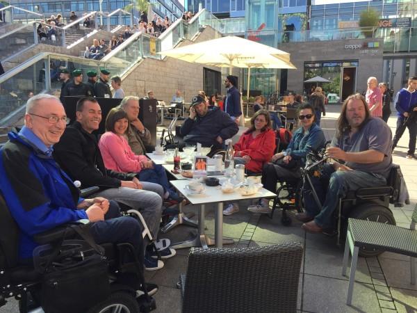 Kostenloses Rollstuhltraining Stuttgart behindert barrierefrei