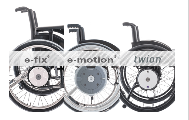 Alber e-fix, e-motion, twion
