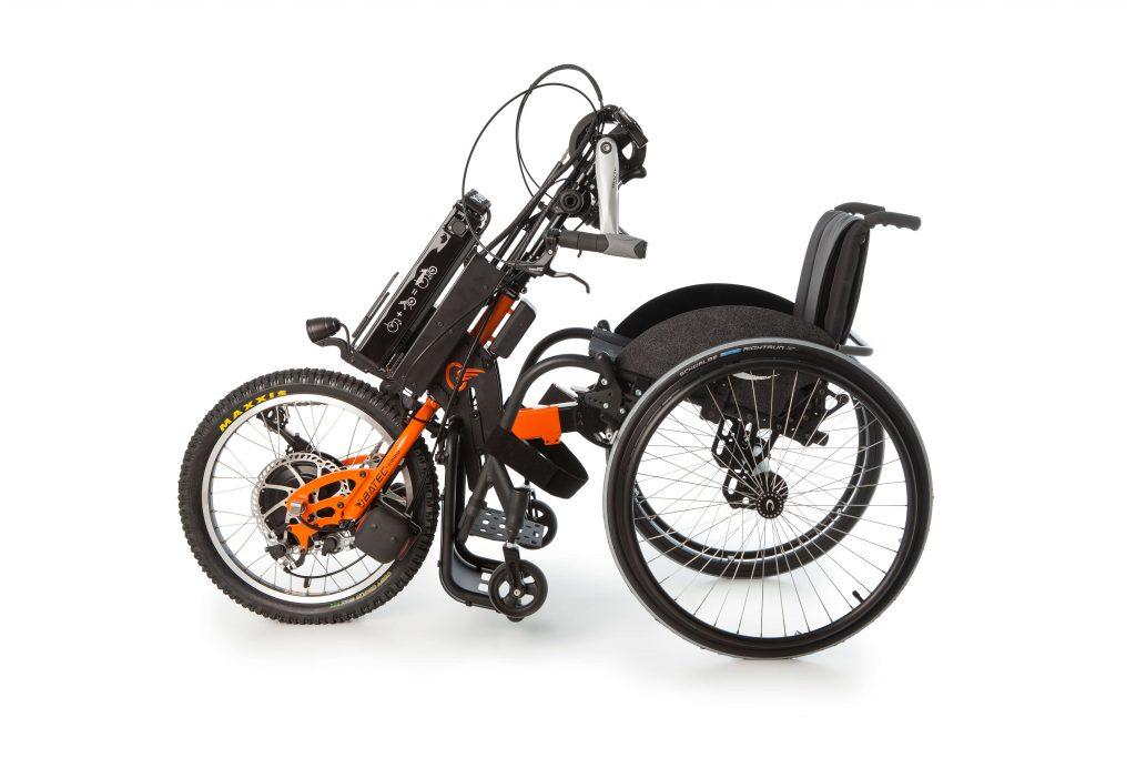Zuggerät Max Mobility Kitzbühel Event 2015 Probefahrt Batec Vorspannbike behindert barrierefrei