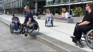 Kostenloses Rollstuhltraining am 25.07.2019 in Stuttgart @ Stuttgart Kunstmuseum | Stuttgart | Baden-Württemberg | Deutschland