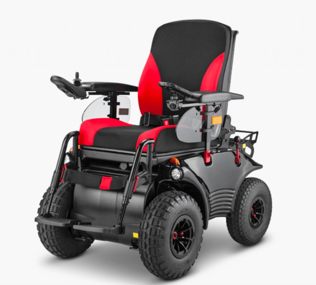 Optimus 2 Elektrorollstuhl MEYRA RS Edition Gelände Rollstuhl behindert barrierefrei