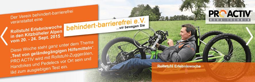 PROAKTIV Kitzbühel behindert-barrierefrei Event