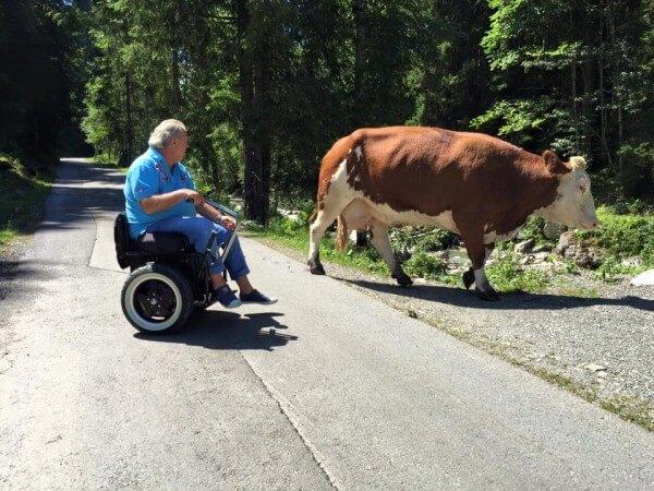 behindert-barrierefrei e.V. Willi Lang Kitzbüheler Alpen 22.09.2015 Event