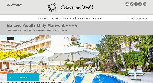 Rollstuhl Hotel Mallorca