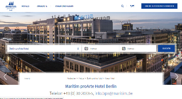 rollstuhl maritim proarte hotel berlin barrierefrei behindert barrierefrei e v. Black Bedroom Furniture Sets. Home Design Ideas