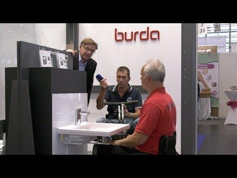Video Rollstuhl Waschbecken Hohenverstellbar Elektrisch Behindert