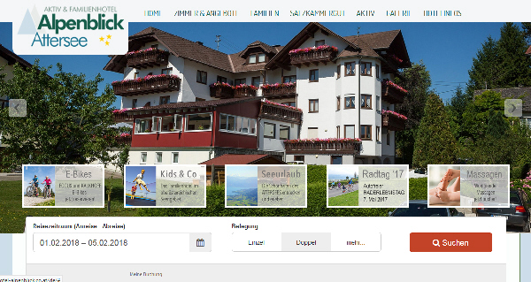 Rollstuhl Hotel Alpenblick Attersee Osterreich Barrierefrei