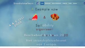 Die Strandrollstuhlmesse in Blankenburge in Belgien @ Blankenberge | Vlaanderen | Belgien