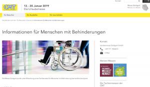 CMT - Die Urlaubsmesse Stuttgart 12. - 20. Jan. 2019 @ Messe Stuttgart | Stuttgart | Baden-Württemberg | Deutschland