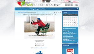 Schnuppertraining Wintersport Oberhof für barrierefrei @ LOTTO Thüringen Skisport-HALLE Oberhof   Oberhof   Thüringen   Deutschland