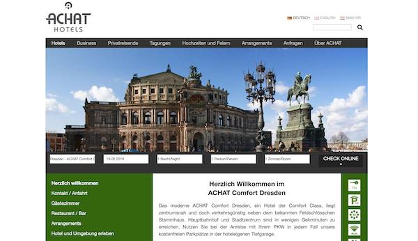 Rollstuhl Hotel Achat Comfort Dresden Barrierefrei Behindert