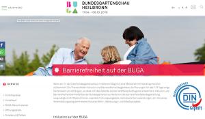 Bundesgartenschau Heilbronn barrierefrei vom 17.04. - 6.10.2019 @ BUndesgartenschau | Heilbronn | Baden-Württemberg | Deutschland