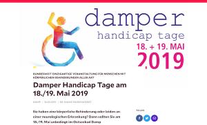 Ostseebad Damp - Damper Handicap Tage am 18./19. Mai 2019 @ Reha Klinik Damp   Damp   Schleswig-Holstein   Deutschland