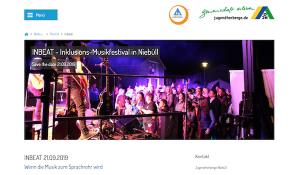 21.09.2019 ab 14 Uhr InBeat Musikfestival in der Jugendherberge Niebüll @ Niebüll | Schleswig-Holstein | Deutschland