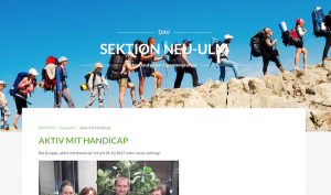 Klettern für Menschen mit Behinderungen, auch Rollstuhlfahrer @ sparkassendome DAV Kletterwelt | Neu-Ulm | Bayern | Deutschland