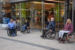 Kostenloses Rollstuhl-Training in Minden jeden 1. und 3. Donnerstag im Monat