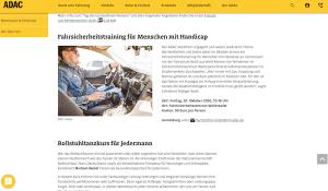 abgesagt - Fahrsicherheitstraining für Menschen mit Handicap 30. Oktober 2020, 10-18 Uhr, Fahrsicherheitszentrum Weilerswist @ Fahrsicherheitszentrum Weilerswist | Weilerswist | Nordrhein-Westfalen | Deutschland