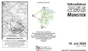 13. Volksradfahren Munster 19.07.2020 auch mit einer Strecke für Rollstuhlfahrer @ Truppenübungsplatz Nord | Munster | Niedersachsen | Deutschland