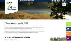 7-Seen-Wanderung Leipziger Neuseenland 2020 barrierefrei