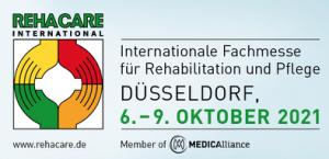 Messe Rehacare Düsseldorf vom 6. bis 9. Oktober 2021 @ Düsseldorf | Düsseldorf | Nordrhein-Westfalen | Deutschland