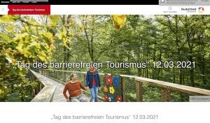 """""""Tag des barrierefreien Tourismus"""" 12.03.2021 – online"""